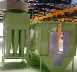 Powder Coating Booth & Recovery System